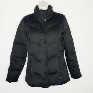 Womens Calvin Klein Puffer Coat Down Black Small
